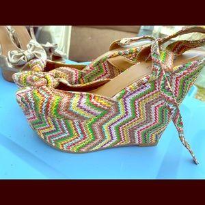 Candies wedge sandals!